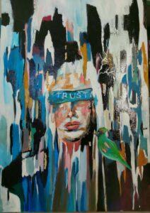 ציירת ישראלית חגית ארגמן