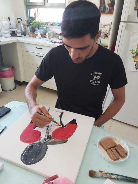 שיעורי ציור ציור רישום